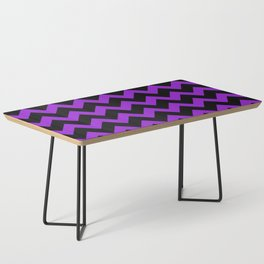 Purple Chevron Coffee Table