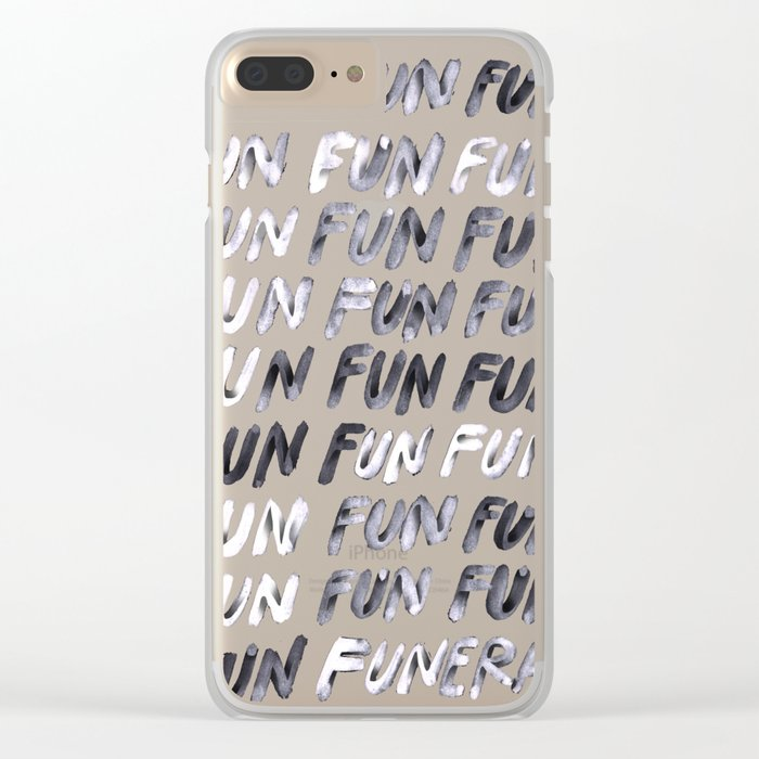 THAT'S LIFE Clear iPhone Case