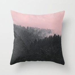 Slowly Sinking In Throw Pillow