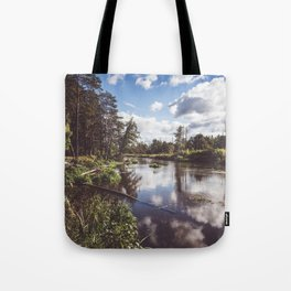 Liwiec River - Landscape and Nature Photography Tote Bag