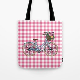 Her Bicycle Tote Bag