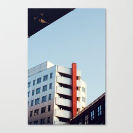 Contrasted Canvas Print