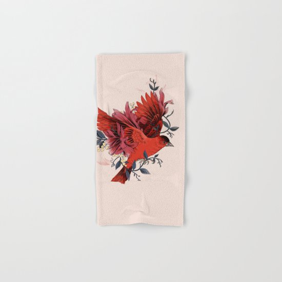 Blooming Bird Hand & Bath Towel