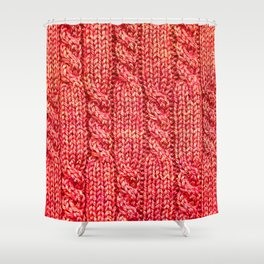 Knitting_016_by_JAMFoto Shower Curtain