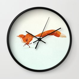 Fox 1 Wall Clock