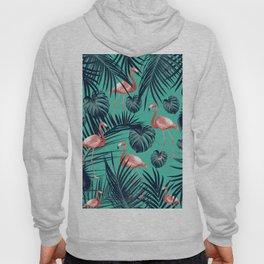 Tropical Flamingo Pattern #7 #tropical #decor #art #society6 Hoody