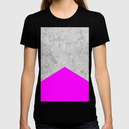 Concrete Arrow - Neon Purple #728 T-shirt
