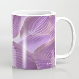 Flower | Flowers | Lavender Purple Glowing Hosta Coffee Mug