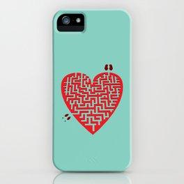 Love Maze iPhone Case