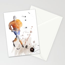 Soccer Player 7 Stationery Cards