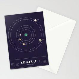 Uranus & The Mayor Moons Stationery Cards