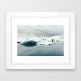 Jökulsárlón, Iceland Framed Art Print