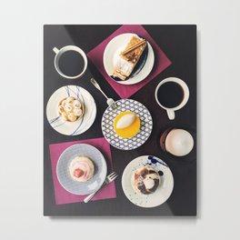dessert table Metal Print