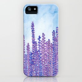 Lavender Field - Mom's favorite iPhone Case