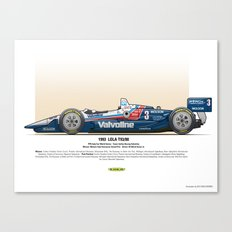 #3 LOLA - 1993 - T9300 - Al Unser Jr Canvas Print