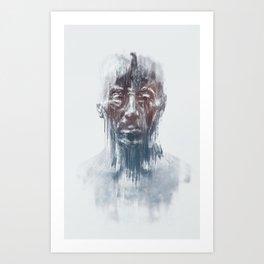 Portret 008 Art Print