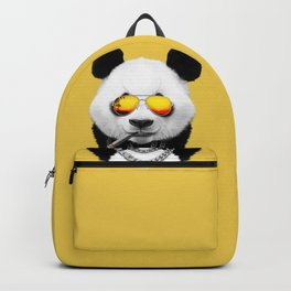 Summer Smoking Panda Backpack