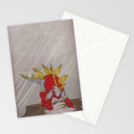 Stegolossus - Superhero Dinosaurs Series Stationery Cards