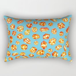 Gemstone Field Rectangular Pillow