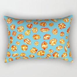 Gemstone Field Rectangular Pillow