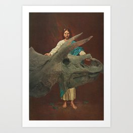 Look What I Found Art Print
