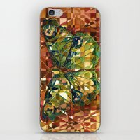 moth iPhone & iPod Skins featuring Moth by S.G. DeCarlo