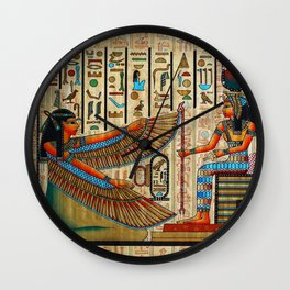 Egyptian - Isis Wall Clock