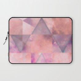 Blurred pink space geometrics Laptop Sleeve