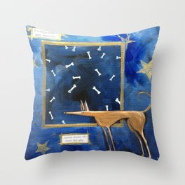 Wishes and Bones Throw Pillow