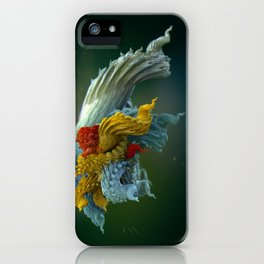 Chlorotiqua no.4 iPhone Case