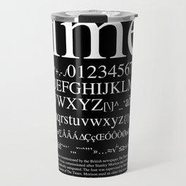 Times (White) Travel Mug