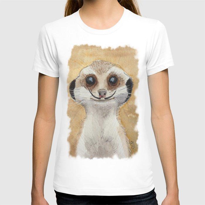 Meerkat 'Stache II T-shirt