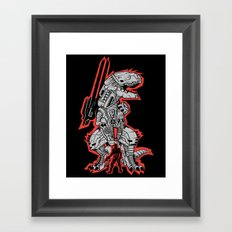 Metal Gear T.REX Framed Art Print