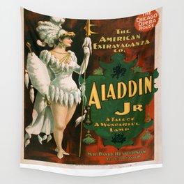 Vintage poster - Aladdin Jr. Wall Tapestry