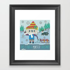This is not a Monster Christmas Framed Art Print