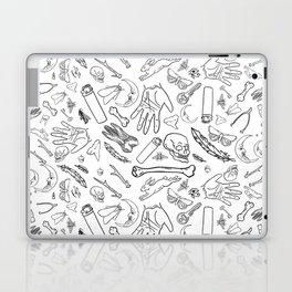 Creepy Luck Laptop & iPad Skin
