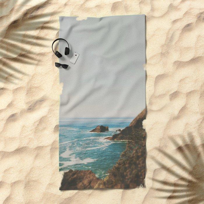 Oregon Coast Beach Towel