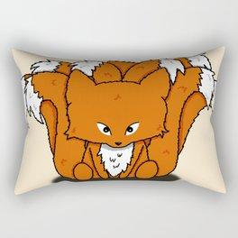 Chibi Nine Tailed Fox (Chibi Kyuubi no Kitsune) Rectangular Pillow