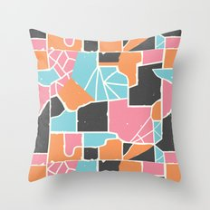 Bela Silueto Throw Pillow