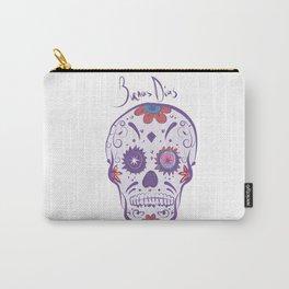 Sugar Skull Buenas Dias Carry-All Pouch
