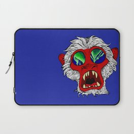 """Arctic Monkey"" by Virginia McCarthy Laptop Sleeve"