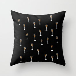 More Champagne Please Throw Pillow