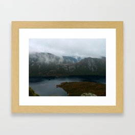 Dove Lake at Cradle Mountain Framed Art Print