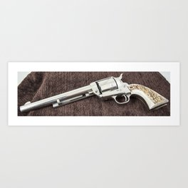 Guns Of The Old West - Colt .45, #6 Art Print