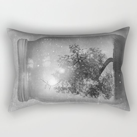 Black and White - Saving Nature Rectangular Pillow