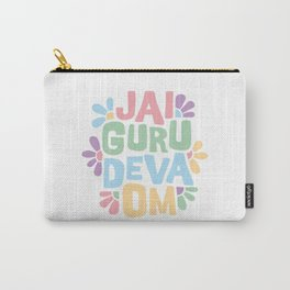 Jai Guru Deva Om (Soft) Carry-All Pouch