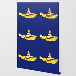 We all live in a yellow submarine Wallpaper