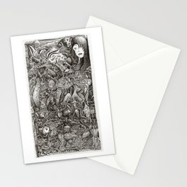 The Hardest Part, by Brian Benson Stationery Cards