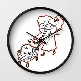 mame mame rock 0006 Wall Clock