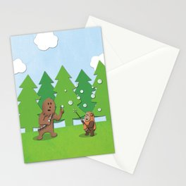 SW Kids - Chewie Bubbles Stationery Cards